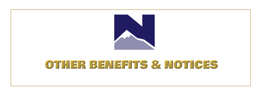Other Benefits & Notices